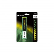 Memoria Corsair Value Select DDR3 PC3-12800 (1600MHz), CL11, 8 GB. CMV8GX3M1A1600C11