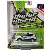 2014 FORD ESCAPE (NYPD) Motor World Series 16 American Edition 1:64 Scale 2016 Greenlight Collectibles Die-Cast Vehicle
