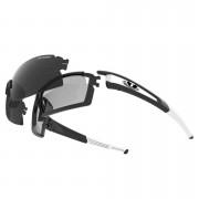 Tifosi Pro Escalate Shield & Full Sunglasses - Black/Fototec Light Night