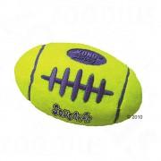 Kong minge de rugby cu zornăitor - mare (19 cm x 10 cm)