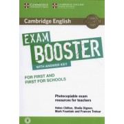 Cambridge English Exam Booster for First and First for Schools with Answer Key with Audio by Helen Chilton