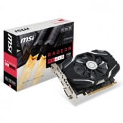 Placa video MSI Radeon RX 460 4G OC, 1210 MHz, 4GB GDDR5, 128-bit, DL-DVI-D, HDMI, DP