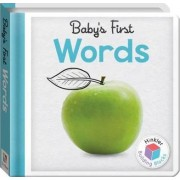 Words Baby's First Padded Board Book