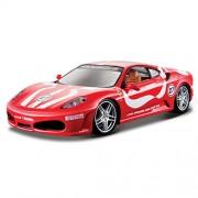 Bburago - 1/24 Ferrari Race & Play F430 Fiorano, color rojo (18-26009)