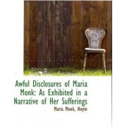Awful Disclosures of Maria Monk by Maria Monk Hoyte