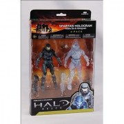 Halo Reach McFarlane Toys Series 4 Action Figure 2Pack Spartan Hologram Noble...