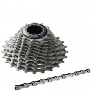 Shimano Ultegra CS-6800 Bicycle Chain and Cassette - 11 Speed 11-25T