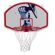 Kosárlabda palánk gyűrűvel hálóval