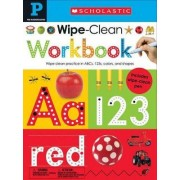 Wipe Clean Workbooks: Pre-K (Scholastic Early Learners) by Scholastic