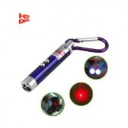 1 Laser Light in with Key Hook (Random Colour 5 to 11 change)