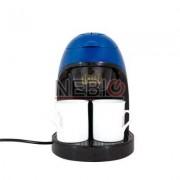 Filtru de cafea Victronic, 450 W, 2 Cani, Albastru/Negru