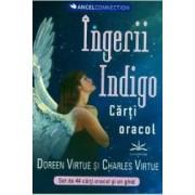 Ingerii Indigo. Carti oracol - Doreen Virtue Charles Virtue
