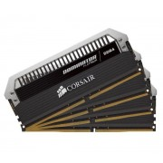 Dominator Platinum - 16 Go (4 x 4 Go) DDR4-2666 - PC4-21300 - CL16 - Mémoire PC (CMD16GX4M4A2666C16)