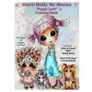 Sherri Baldy My Besties TM Puppy Love Coloring Book