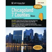 Universal Map Chicagoan 7 Counties Atlas 10152