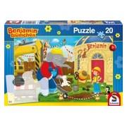 Construction Site, 20 pcs - Kinderpuzzel