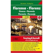 Florence city pocket 1:10 000(freytag & berndt)