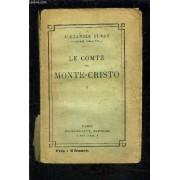 Le Comte De Monte Cristo- Tome 1 Vendu Seul