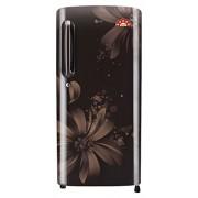 LG 215 L 5 Star Direct-Cool Single Door Refrigerator (GL-B221AHAN.DHAZEBN, Hazel Aster)