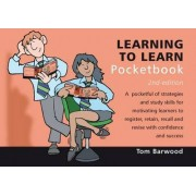 Learning to Learn Pocketbook by Tom Barwood