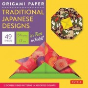Origami Paper Traditional Japanese Designs Small by Periplus Editions