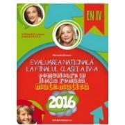 Evaluare Nationala 2016 cls 4 comunicare in limba romana - matematica - Manuela Dinescu