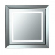 Oglinda Laufen 75x75x4.5cm gama Lb3, cu rama si iluminare