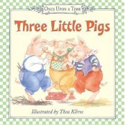 Three Little Pigs Board Book by Thea Kliros