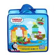 Thomas and Friends - Thomas túnel de lavado de sodor, juego de construcción (Mattel CNJ12)