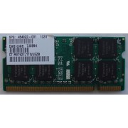 Transcend - Mémoire 1 Go - SO DIMM 200 broches - DDR2 - PC2-5300 667 MHz - CAS 5 - JM667QSJ-1G-E