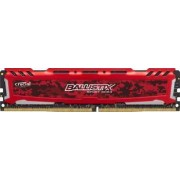 Memorie Crucial Ballistix Sport LT Red 8GB DDR4 2400MHz CL16
