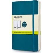 Moleskine Soft Cover Underwater Blue Pocket Plain Notebook by Moleskine
