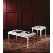 Millerighe - négyzetes kisasztal márványlappal - zöld