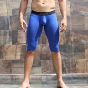 McKillop Bulge Envy Bespoke Capri Modal Low Rise Long Boxer Brief Underwear Royal BCMO-RO1