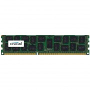 Crucial 8GB, 240-Pin DIMM, DDR3 PC3-12800 Memory Module - 8 GB (1 X 8 GB) - DDR3 SDRAM - 1600 MHz DDR3-1600/PC3-12800 - 1.35 V - ECC - Registered - 240-pin - DIMM - CT8G3ERSLS4160B