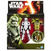 Figurine Star Wars The Force Awakens - 3/75 Armor Up First Order Stormtrooper