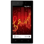 Karbonn A6 Turbo (Black + Silver 4GB)