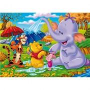 Clementoni 277070- Puzzle infantil de Winnie the Pooh