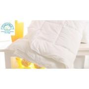 Piumino Bianco DAUNEX in microfibra matrimoniale 4 punti calore Invernale