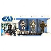 Star Wars: Legacy Collection Evolutions Imperial Pilot Legacy (Ep.II Clone Pilot Ep.III Clone Pilot & Biggs Darklighter