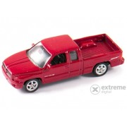 Mașinuță Welly Dodge RAM Quad Cab 1500 Sport, bordo 1:60-64