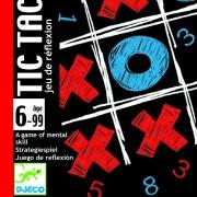 Joc de cărți Djeco Tic Tac Toe (X și 0)