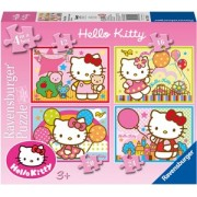 Hello Kitty Puzzel (4 in 1)