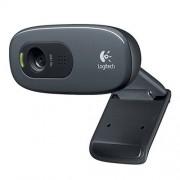 Logitech C270 960-001063 HD Webcam - Black
