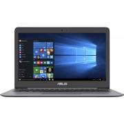 Laptop Asus ZenBook UX410UA-GV155T, 14 FHD Anti-glare, Intel Core i5-7200U, RAM 8GB DDR4, HDD 500GB, SSD 128GB, Windows 10 Home, Quartz Grey
