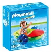 Playmobil - Plm Summer Fun 6675 Ragazza con Fun Boat