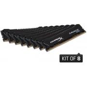 Memorie Kingston HyperX Savage Black DDR4, 8x8GB, 2800 MHz, CL 14