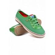 Обувки Риана зелено