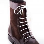 Bondi Laces Boot Laces Merino White / Gold Tips BOOTWH1G