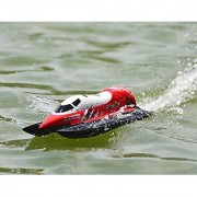 FMTStore CLAYMORE Formula 1 F1 Race Boat 25km/h Auto-roll-back 2.4G Brushed RC Racing Boat V795-2 Flip Proof (Assorted Color)